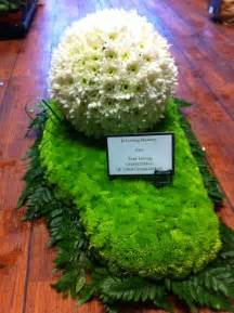 football centerpieces funeral tributes ballynahinch funeral ballynahinch