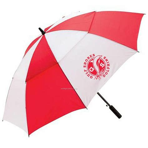 all weather 60 quot and white golf umbrella standard