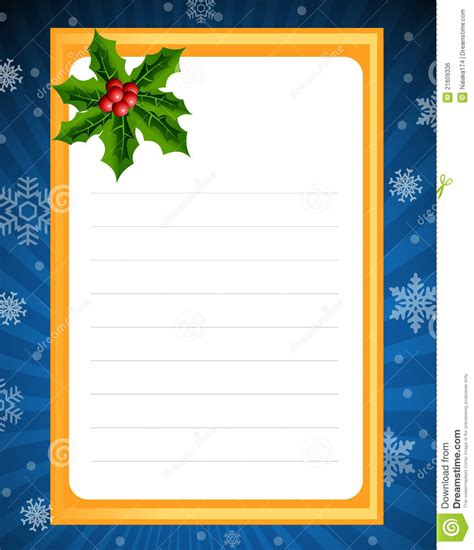 royalty  stock image blank template  christmas