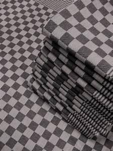 Damier Noir Et Blanc : essuie vaisselle 70x65cm 100 coton damier noir ~ Dallasstarsshop.com Idées de Décoration
