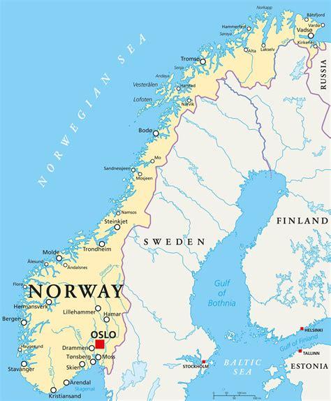 Carte Du Monde Avec Norvege by Carte De La Norv 232 Ge Voyages Cartes