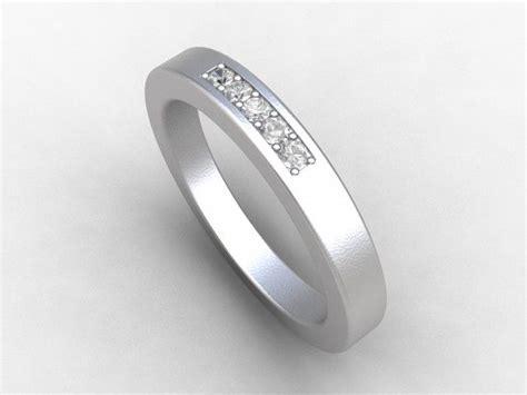 diamond ring titanium wedding band promise ring womens