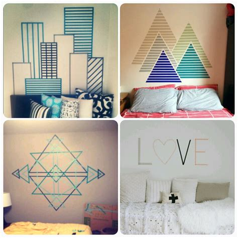 cheap ways  decorate walls  painting home