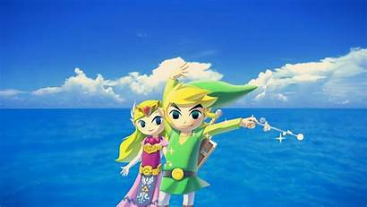 Waker Wind Wallpapers Zelda Link