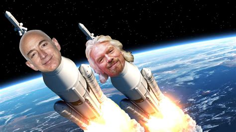 jeff bezos ready  beat richard branson