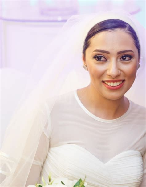Cum And Cover This Sexy Bride From Egypt In Wedding Dress