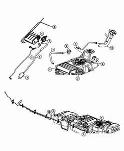 Dodge Dakota Canister  Vapor  Vacuum  Fuel