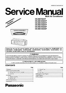 Panasonic Inverter Air Conditioner Wiring Diagram
