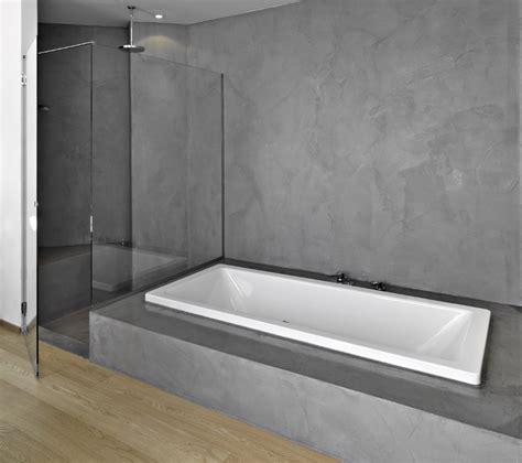carrelage ou beton cire b 233 ton cir 233 sur carrelage salle de bain