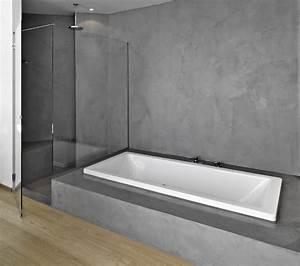 Beton Ciré Salle De Bain Sur Carrelage : b ton cir sur carrelage salle de bain ~ Preciouscoupons.com Idées de Décoration