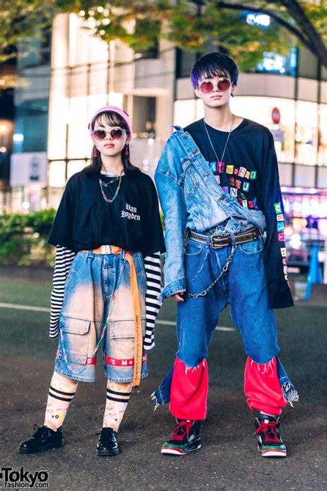 harajuku duo  vintage denim japanese street styles