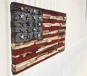 american flag With kitchen cabinets lowes with vintage american flag wall art