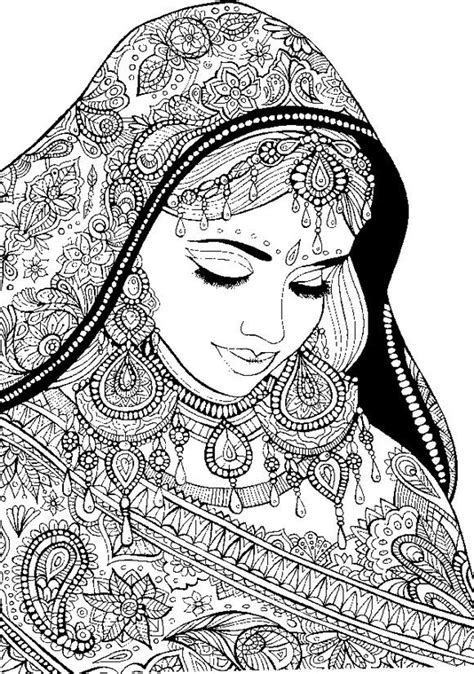 Coloring Pages: Coloring Pages For Adult Tattoo Women | Adult coloring pages, Coloring pages