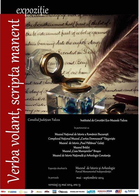 Verba Volant Scripta Manent Autore by Imi Pasa 05 23 14