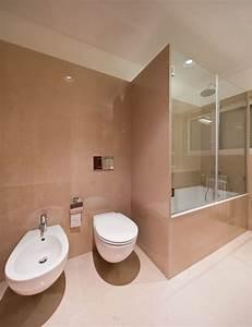 Side By Side Design : modern minimalist apartment bathroom interior design with free standing bathtub amaza design ~ Bigdaddyawards.com Haus und Dekorationen
