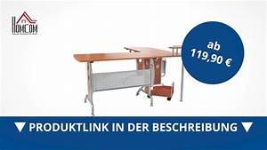 Eck Pc Tisch : homcom eck computertisch pc tisch winkeltisch schreibtisch direkt kaufen youtube ~ Indierocktalk.com Haus und Dekorationen