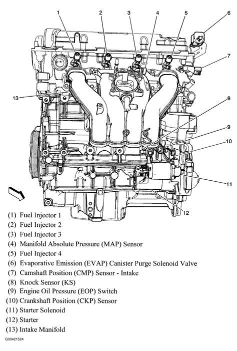 2006 Chevy V6 Engine Vacuum Diagram by Crankshaft Sensor I Need To Find Out Where The Left Side