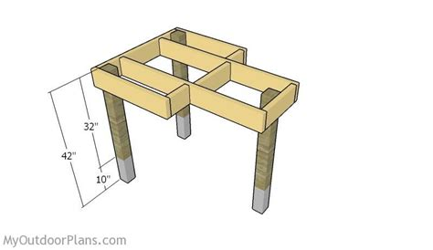 fitting  legs stuff  build shooting bench plans