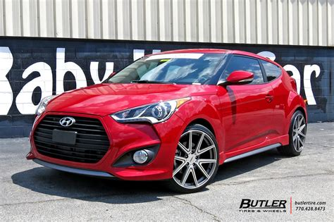hyundai veloster   tsw rouge wheels exclusively