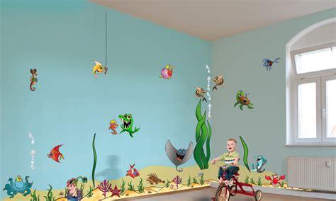 Kinderzimmer Gestalten Unterwasserwelt by Wandtattoo Sets F 252 R Bei Www Mywallstyle De