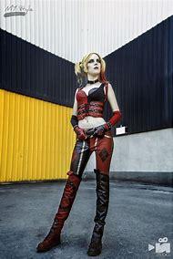 Harley Quinn cosplay costume, Joker girl, DC c…
