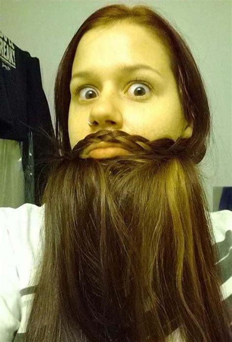 women    hair   wonderful beards
