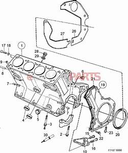 55557240  Saab Rear Main Seal - Crankshaft