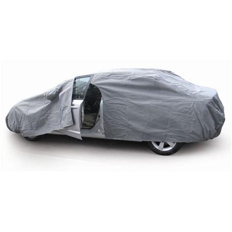 housse de protection pour voiture en polyester autopratic taille l 483 x 178 x 119 cm norauto fr
