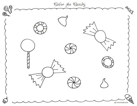 Coloring Templates Printable by Free Printable Candyland Coloring Pages For