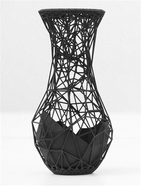 3d print designs customize and print this vase by ivan zhurba design milk