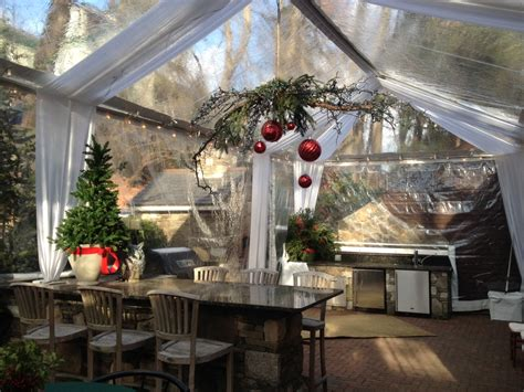 Outdoor Winter Holiday Parties  Atent For Rent