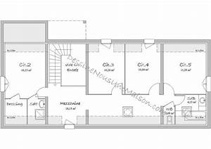 plans de maisons ou villas avec 5 chambres With plan maison 5 chambres gratuit
