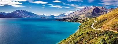 Zealand Inspiring Lake Wakatipu Banner