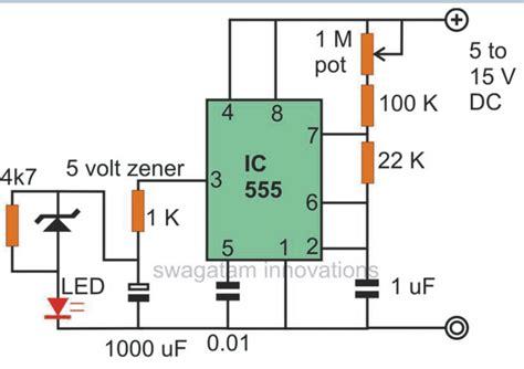 Led Flasher Circuits Blinking Flashing Fading Effect