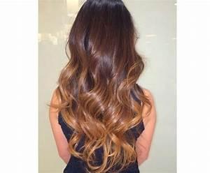 Tie And Dye Marron : extension cheveux tie and dye ombr clip ~ Melissatoandfro.com Idées de Décoration