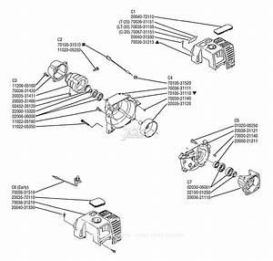 Shindaiwa T20 Parts Diagram For Crankcase