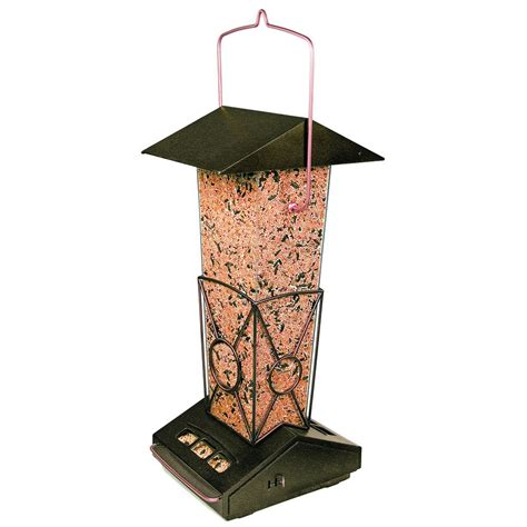 squirrel proof bird feeder home depot pet metal finch feeder the home depot canada