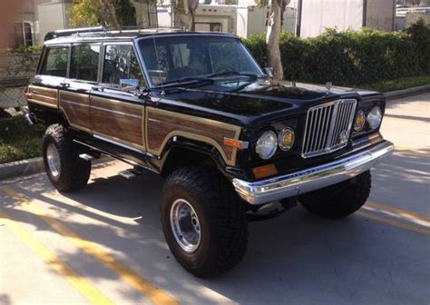 1971 jeep wagoneer 1971 lifted jeep grand wagoneer for sale in big bear lake