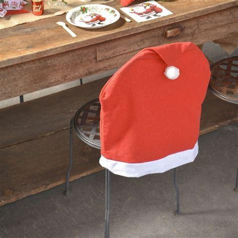 Housse De Chaise Noel housse de chaise de no 234 l en forme de bonnet du p 232 re no 235 l