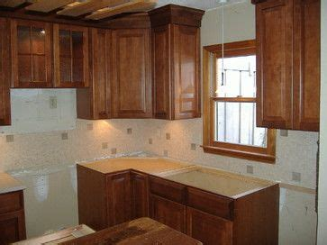 Kitchen Cabinet Stain Ideas - portsmith kraftmaid cabinet kraftmaid chestnut maple cabinets house ideas pinterest