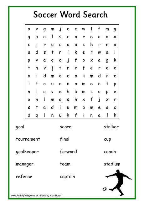football word search puzzles   kitty