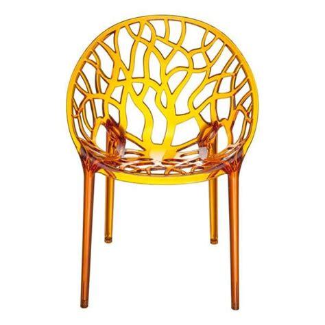 Chaise Design En Polycarbonate  Crystal 4piedscom
