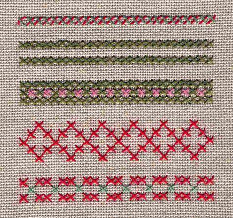 textiles werken sticken