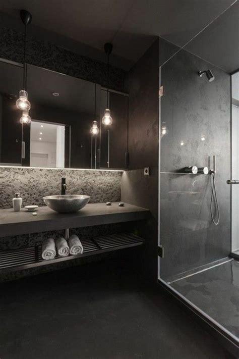 les 20 meilleures id 233 es de la cat 233 gorie salles de bain noires sur