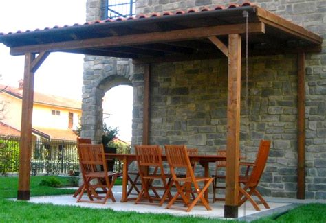 tettoia autoportante tettoie in legno falda singola e doppia artecasaservice