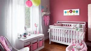 idee couleur chambre bebe fille visuel 4 With idee couleur chambre fille