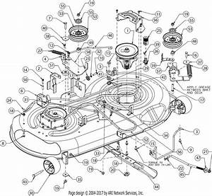 Troy Bilt 13wx79bt011 Horse  2017  Parts Diagram For Deck