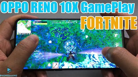 oppo reno  gameplay fortnite mobile max setting youtube