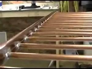Fabriquer Chauffe Eau Solaire : fabriquer un panneau solaire thermique youtube ~ Melissatoandfro.com Idées de Décoration