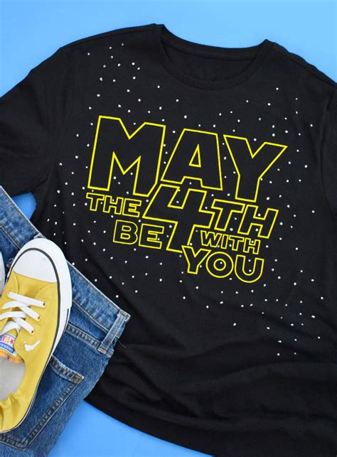 May the Fourth Be With You Star Wars Day SVG ⋆ Dream a ...
